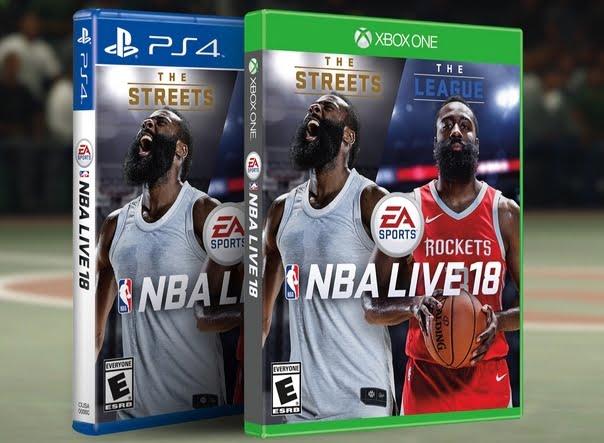 NBA Live 18 jouable gratuitement aujourd'hui