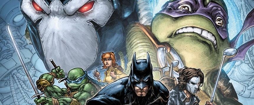 DC Comics et IDW annoncent le crossover Batman/TMNT II