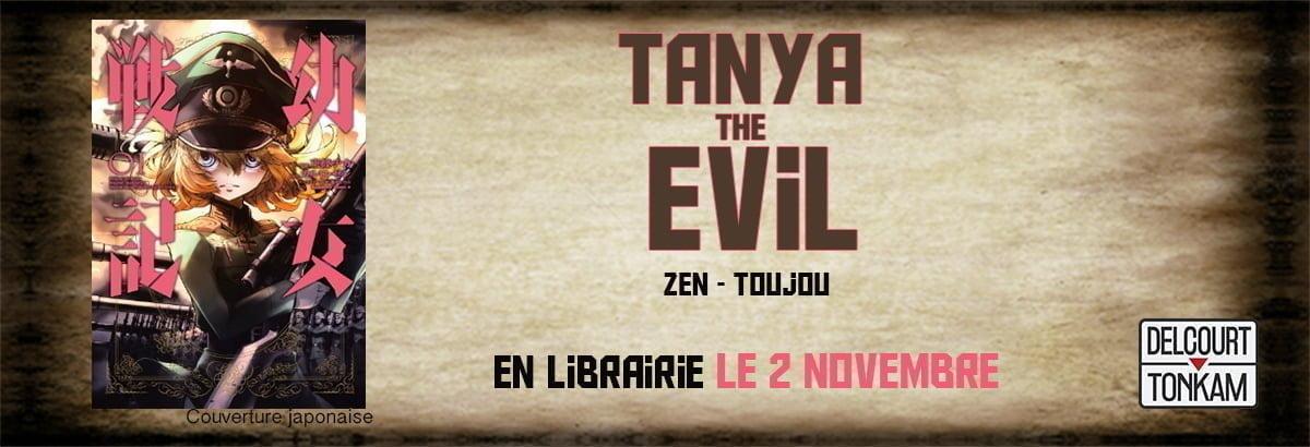 Tanya the Evil : le manga arrive chez Delcourt Tonkam !