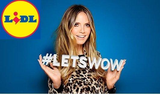Heidi Klum crée une ligne de prêt-à-porter pour…Lidl?