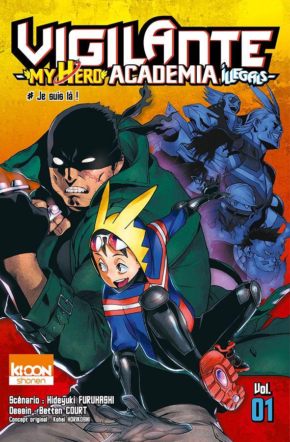 My hero Academia vigilante jaq 1