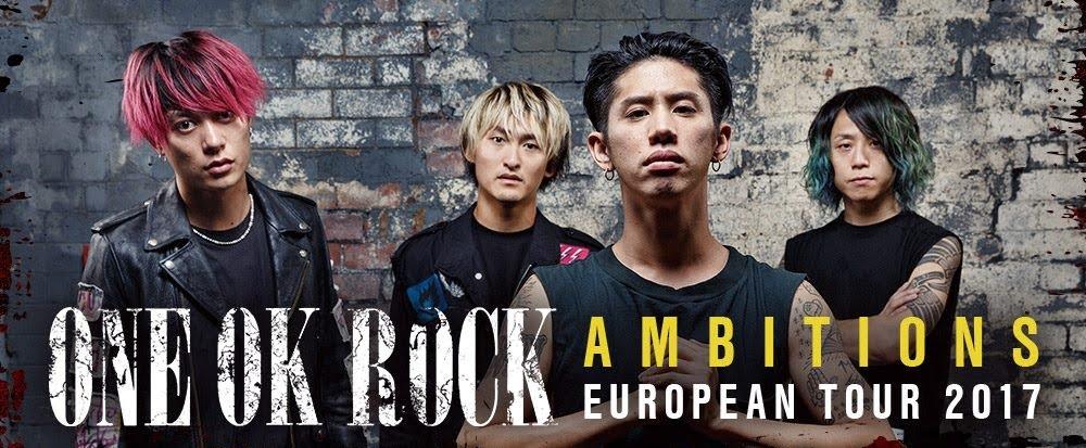 ONE OK ROCK à Paris en Décembre ? OUI !