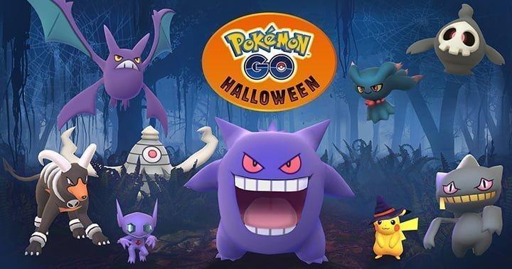 Pokemon GO Halloween arrive avec de nouveaux Pokémon de type Spectre !