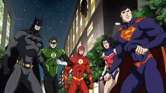 Justice League Collection : le coffret de 10 films d'animation édité par Warner Bros