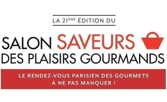 Le salon saveurs des plaisirs gourmands du 1er au 4 décembre 2017 à l'espace Champerret.
