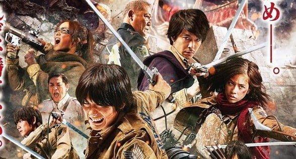 Shingeki no kyojin : notre avis sur les Live-Action loin d'être à la hauteur !