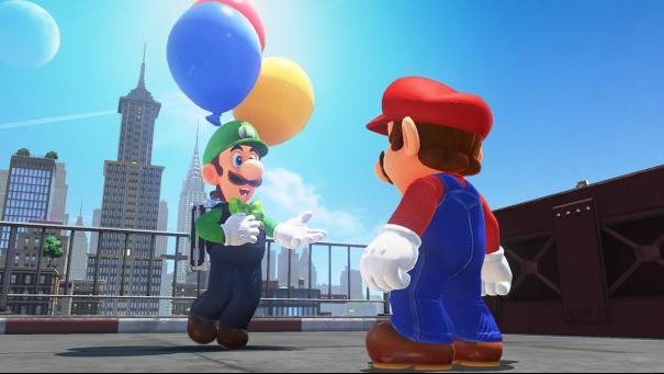 La chasse aux ballons est ouverte sur Super Mario Odyssey !