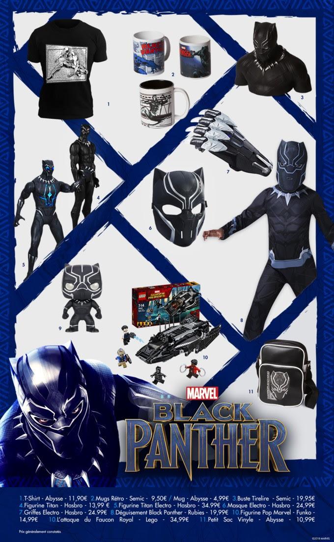 black panther produits