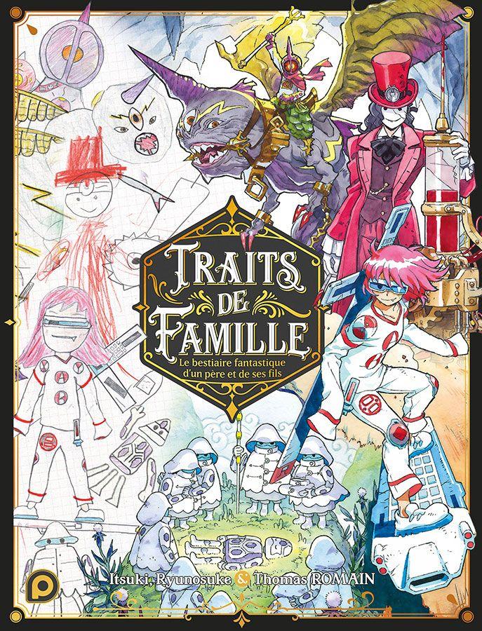 Salon du livre de Paris Traits de famille