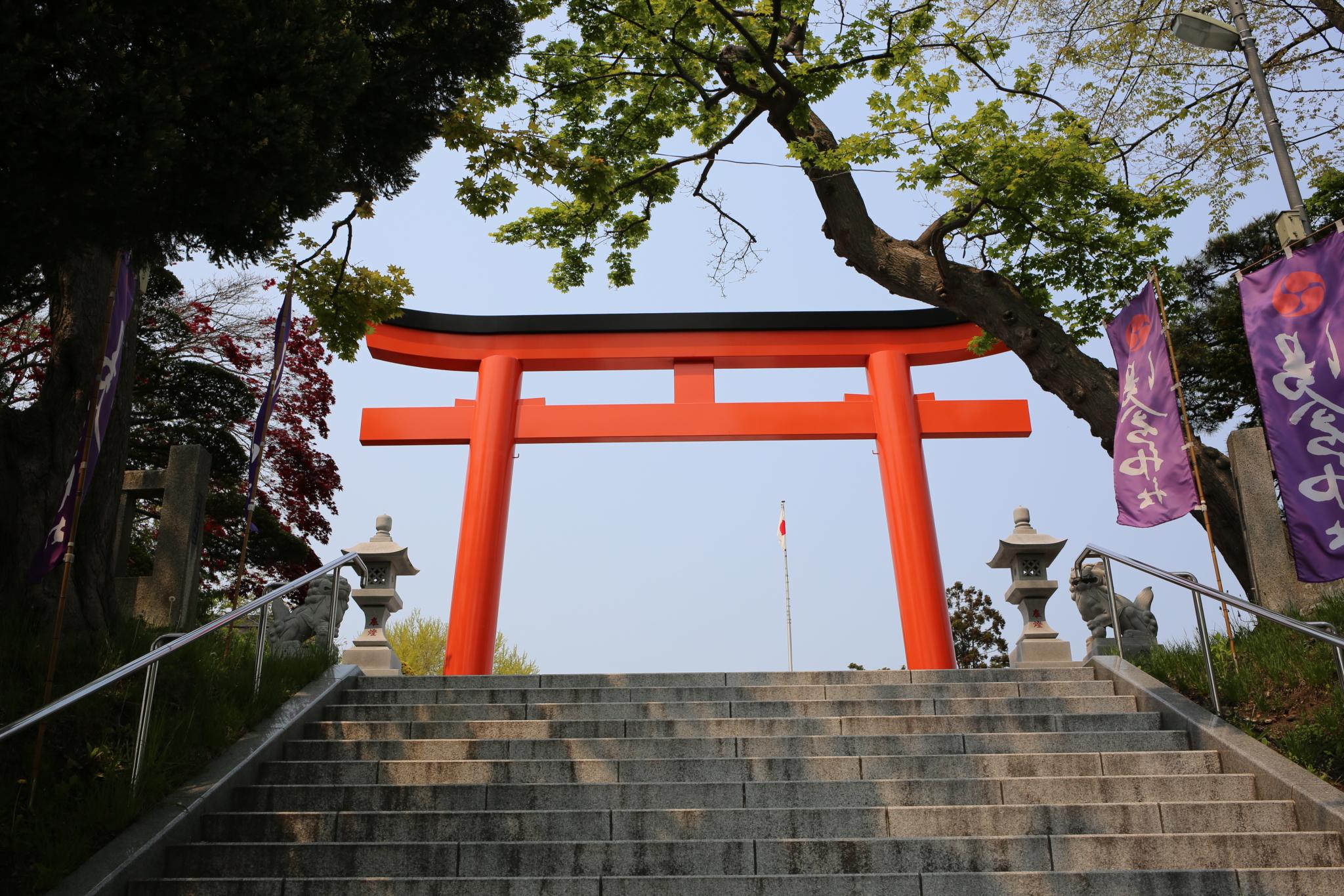 Torii Sanctuaire Yugura Hakodate