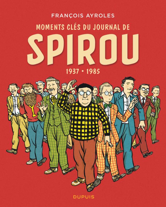 L'équipe de Spirou dans les sixties