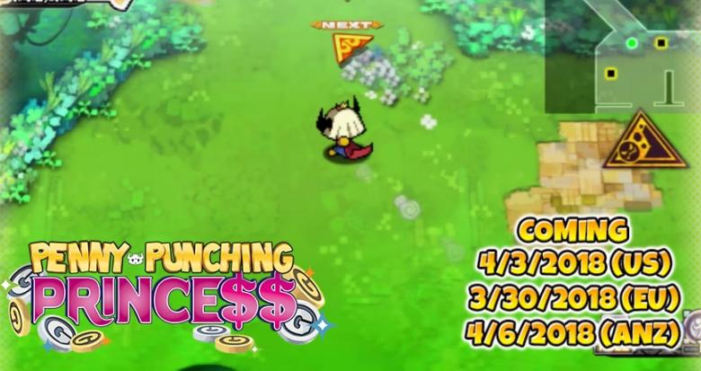 Penny-Punching Princess : Un nouveau trailer révélé !