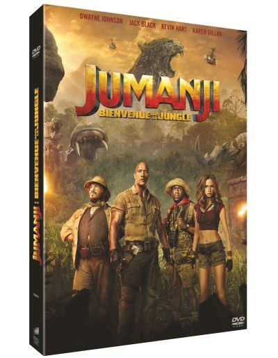 Visuel du DVD Jumanji : Bienvenue dans la jungle