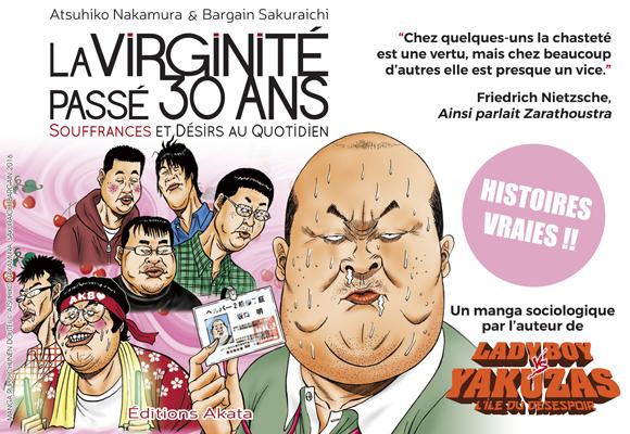 La Virginité passé 30 ans : un manga documentaire sur le Japon actuel !
