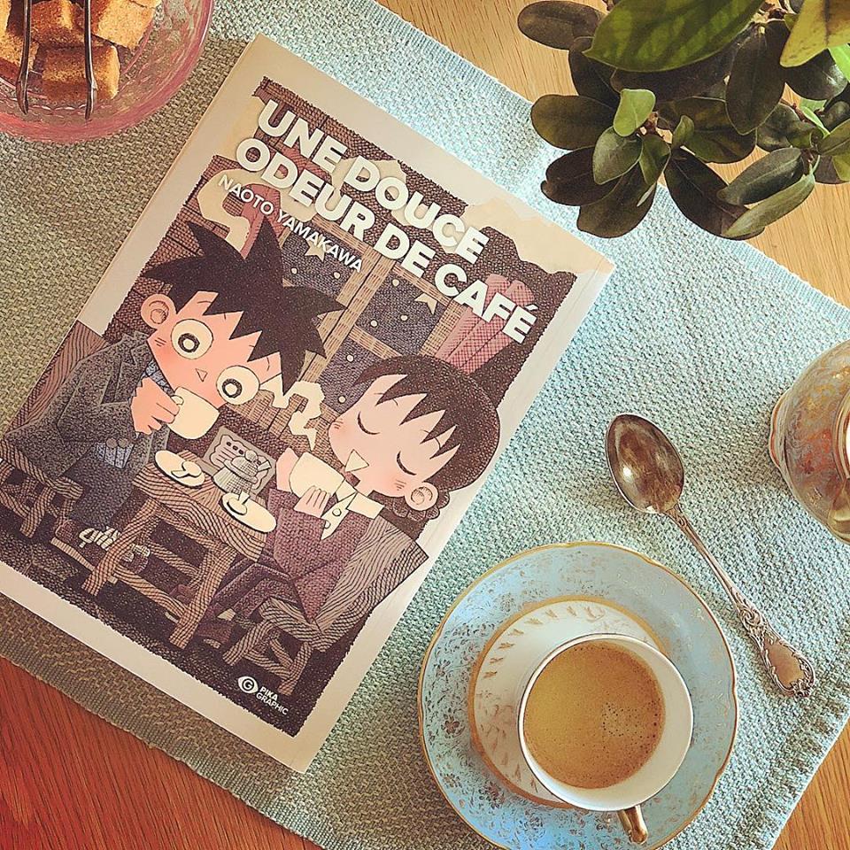 Le Renard Doré Une douce odeur de café manga