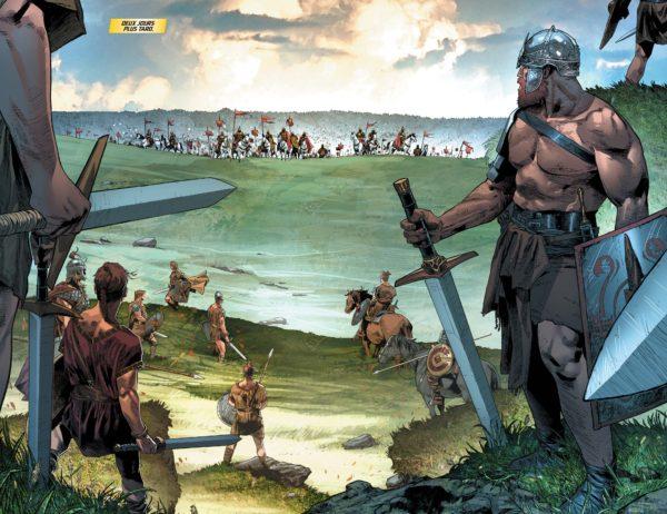 Aric découvre la guerre contre Rome