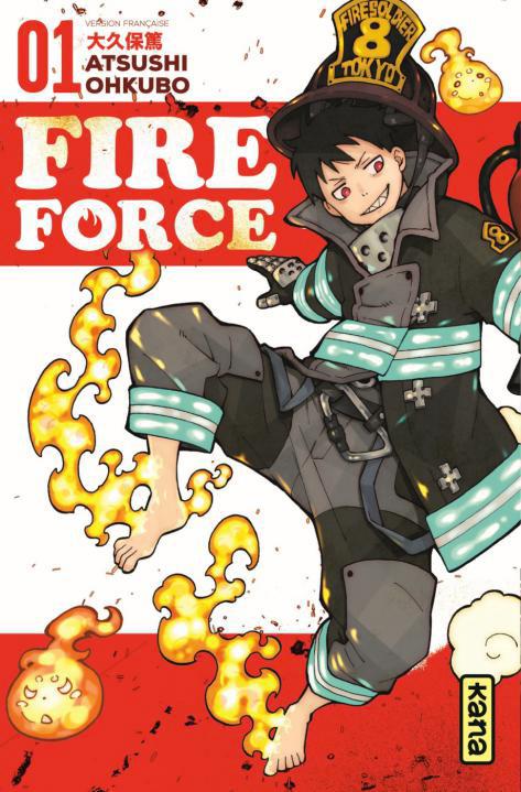 Atsushi Ohkubo Firce Force 1