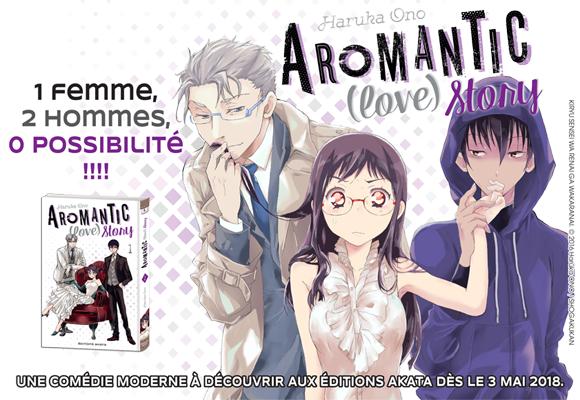 Aromantic (love) Story, une romance pas comme les autres !