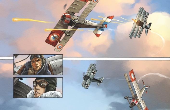 Des beaux combats aériens