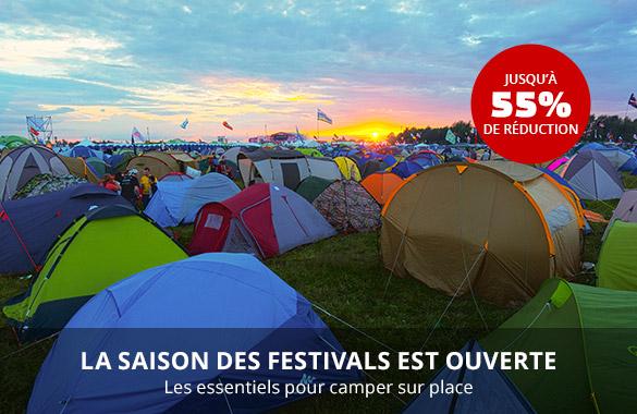 Campz : retrouvez tout le nécessaire pour vos festivals de l'été
