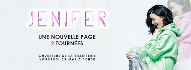 Jenifer : le retour de la chanteuse avec 2 tournées de prévues pour 2019