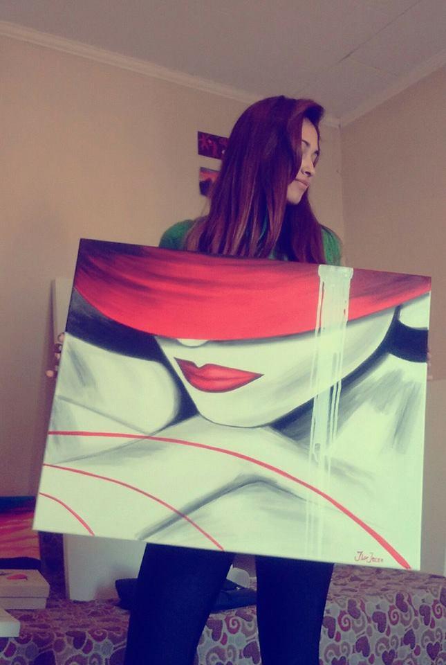 femme artiste argentine