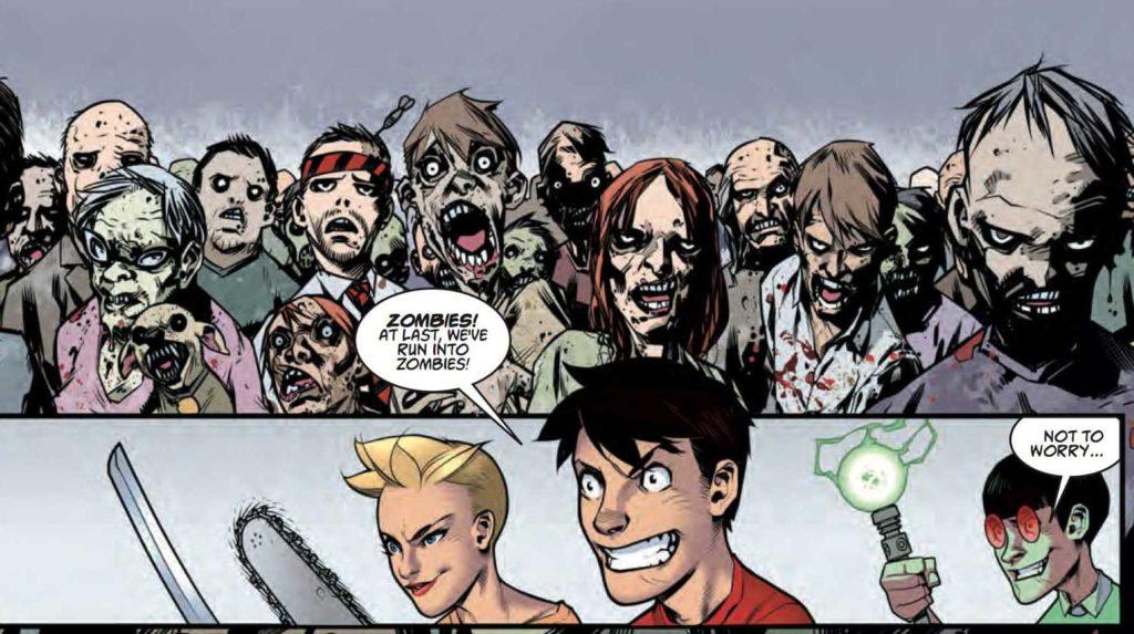 Walking zombies