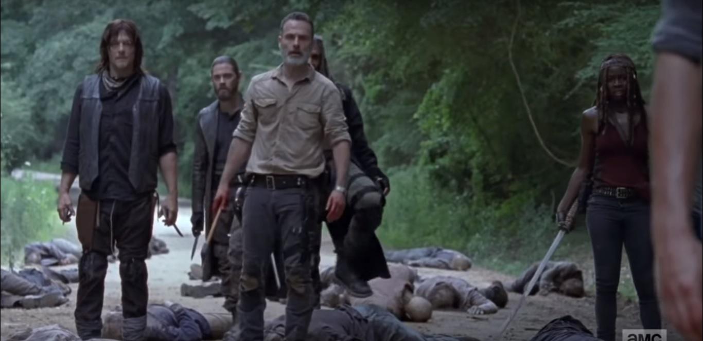 Saison 9 de The Walking Dead : une bande-annonce intrigante