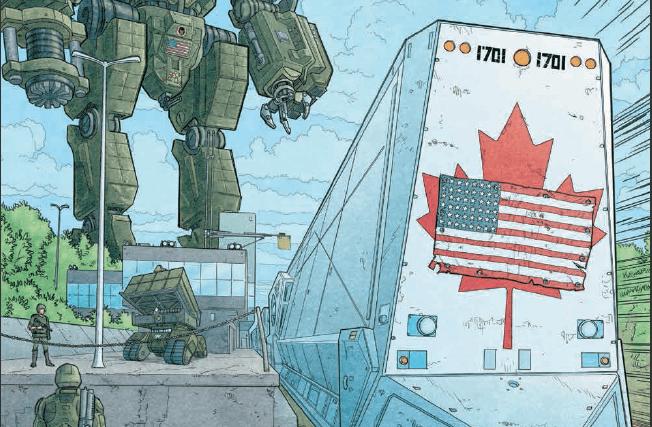 Critique de «We Stand on Guard» de Brian K. Vaughan et Steve Skroce