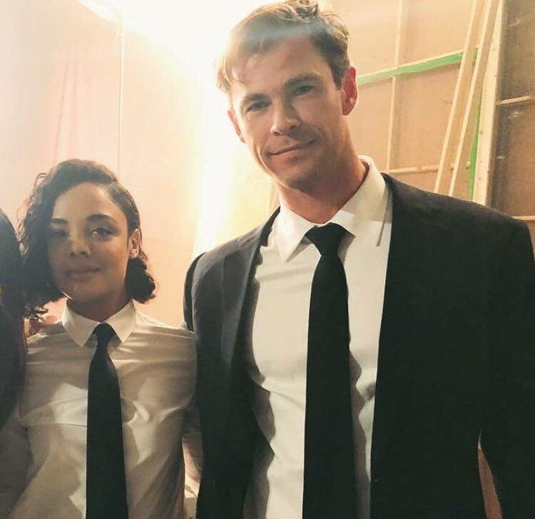 Chris Hemsworth et Tessa Thompson