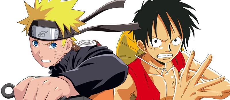 Naruto/One Piece héros de manga les plus cools
