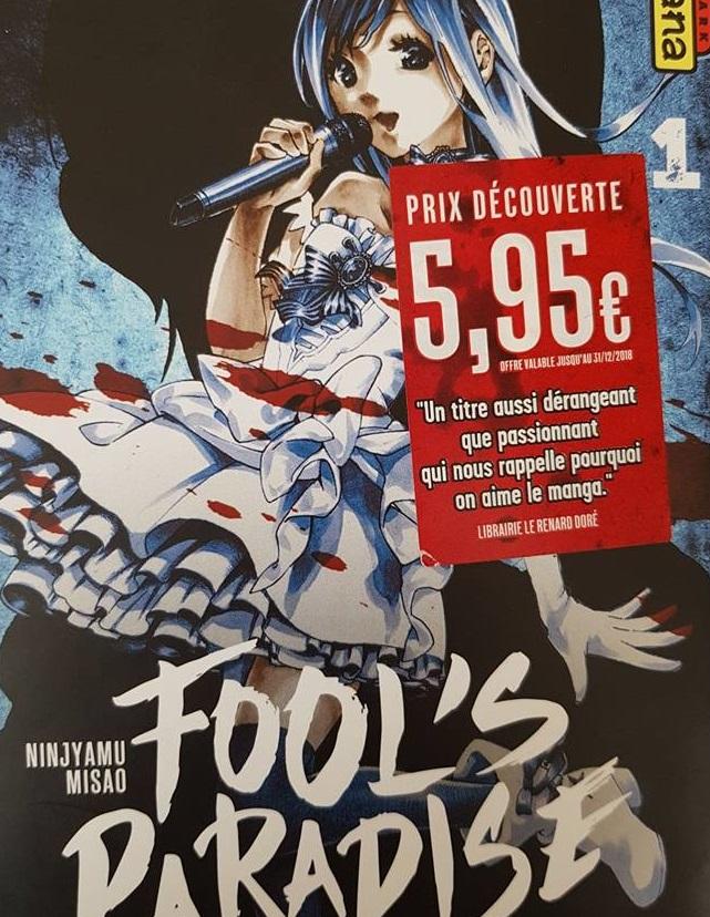 Fool's Paradise prix découverte