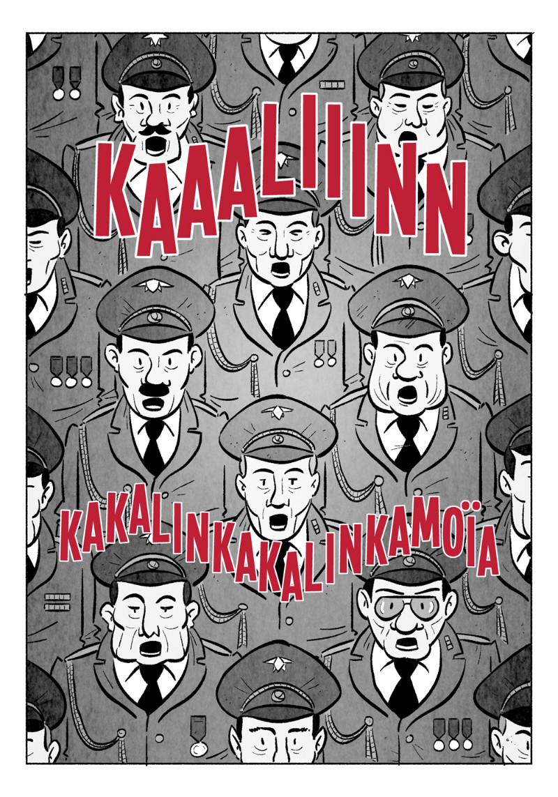 Le concert obligatoire des choeurs de l'armée rouge