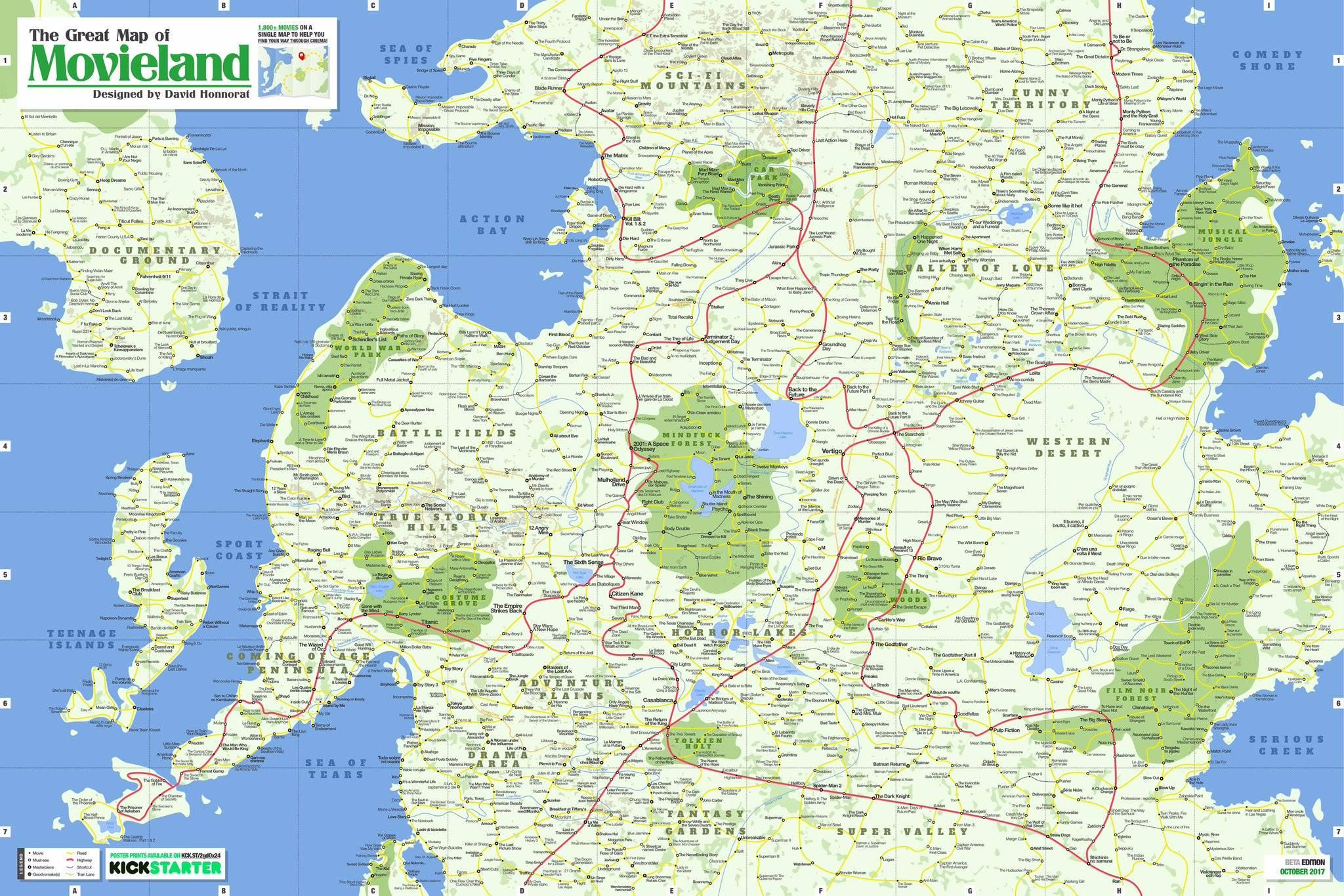 movieland map david honnorat film