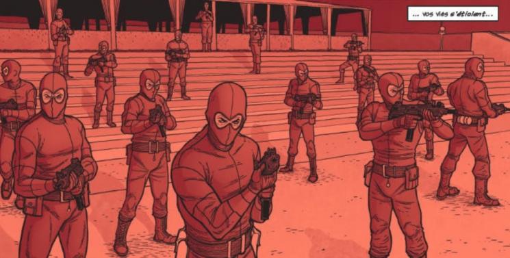 Critique The Dying & the dead de Glénat Comics, à la recherche de la lance perdue