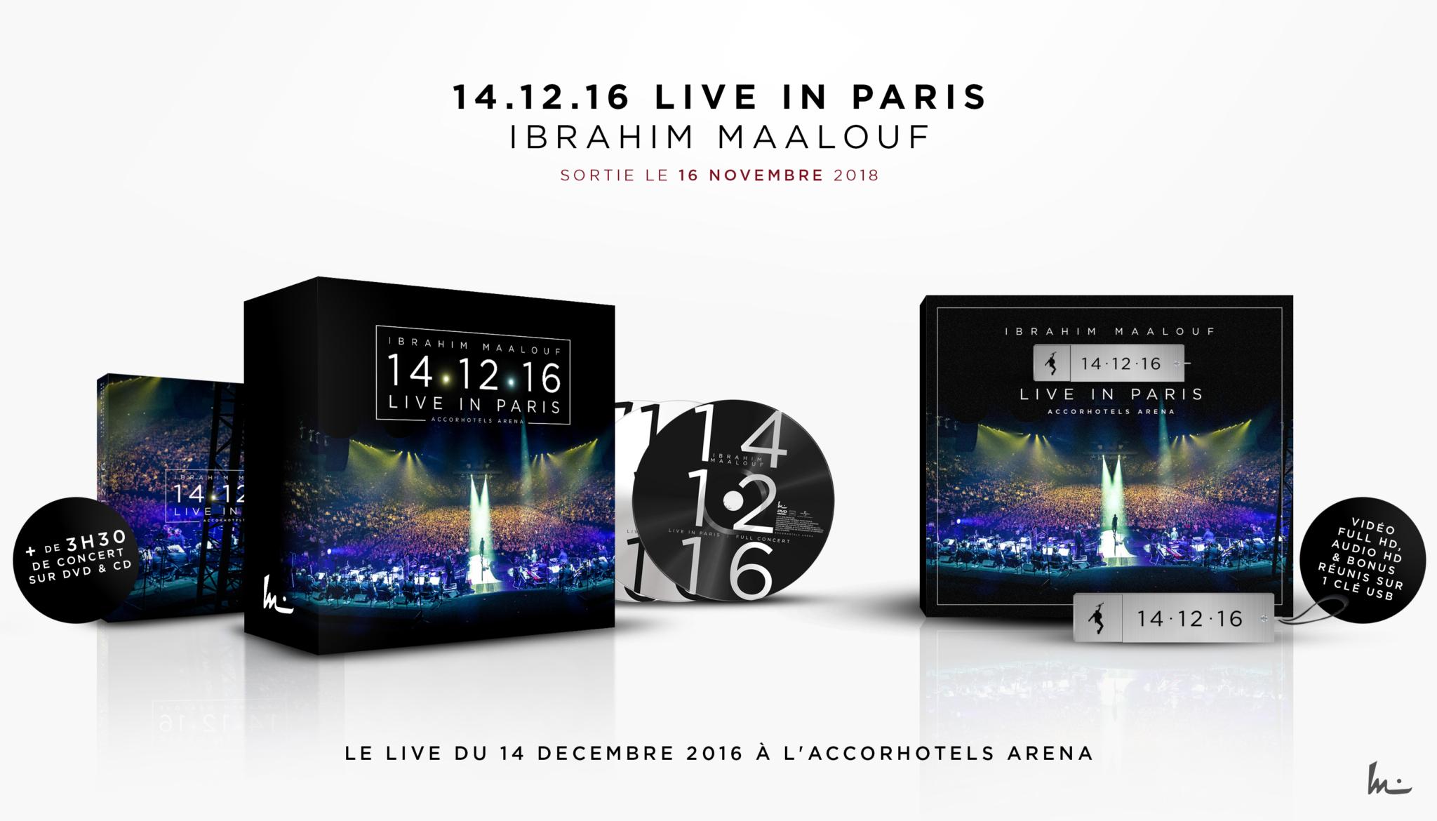 Ibrahim Maalouf -  14.12.16 Live in Paris