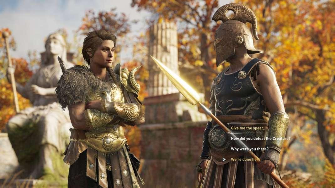 assassin's creed, odyssey, jeu vidéo, ubisoft