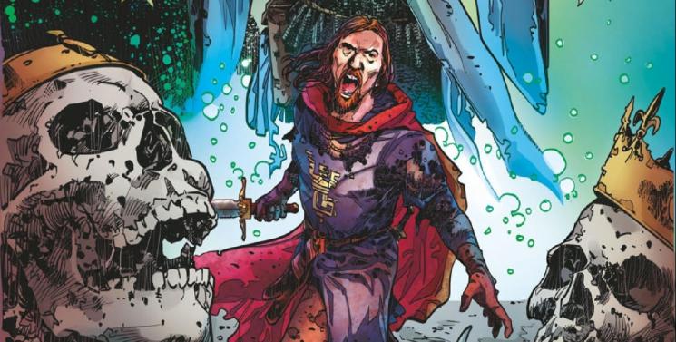 [Critique] Unholy Grail de Snorgleux comics, Merlin version badass