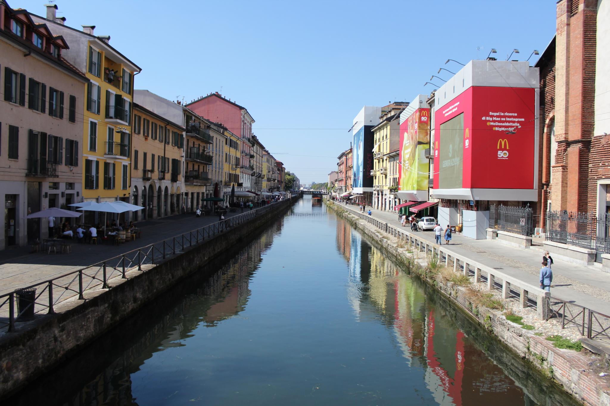milan, italie, navigli, voyage, travel