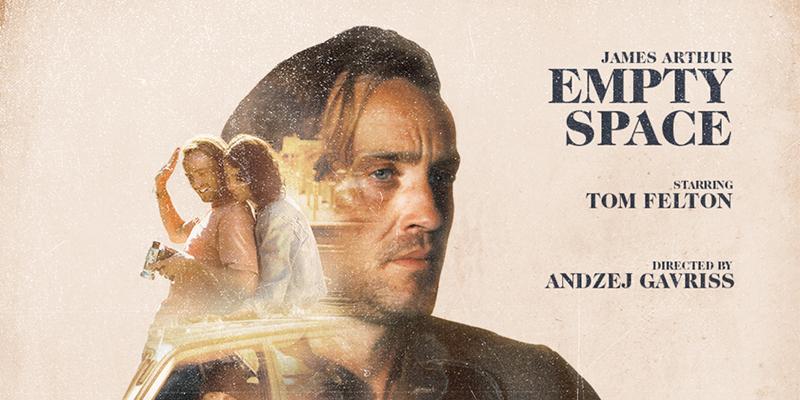 « Empty Space » : le clip de James Arthur avec Tom Felton