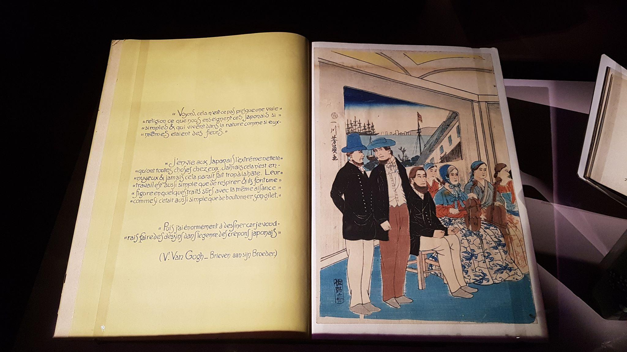 Van Gogh album estampes japonaises ère Edo ère Meiji Paul Gachet