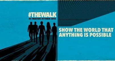 Nouvelle bande annonce vertigineuse de The Walk