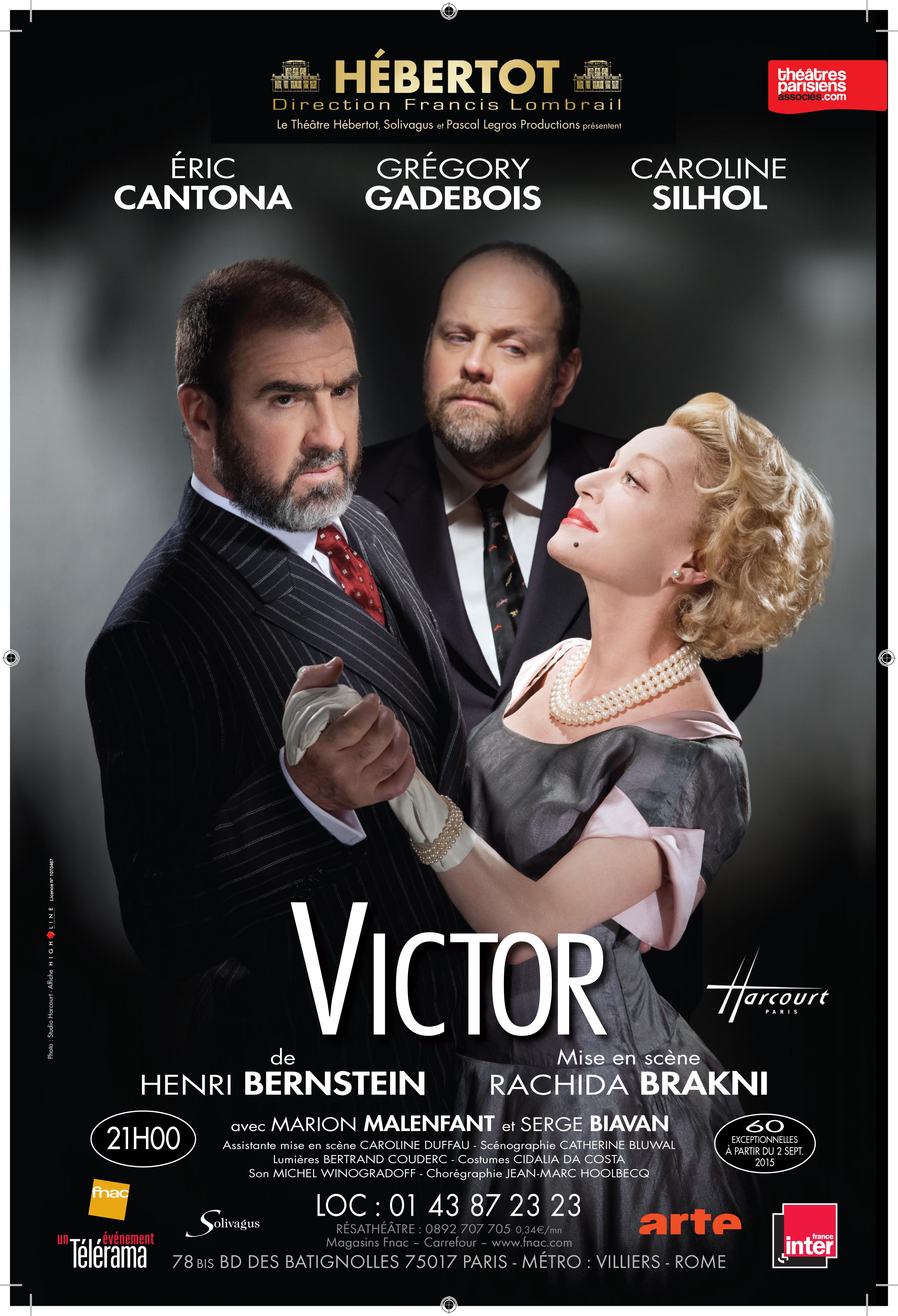 Victor, theatre hebertot
