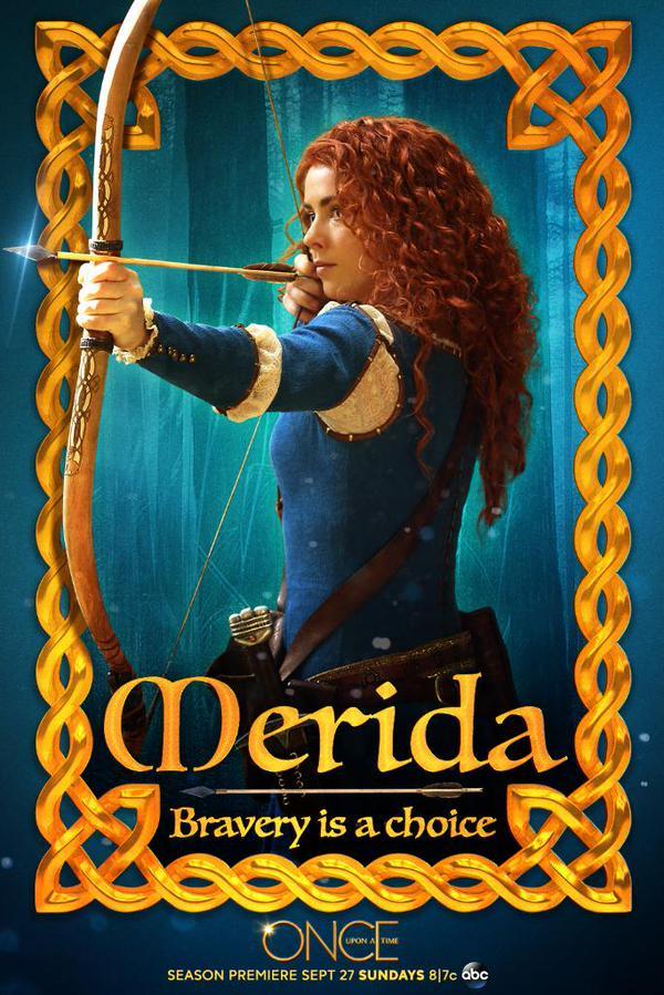 Merida, Once upon a time saison 5