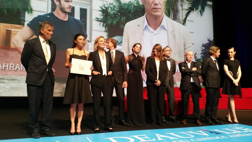 Jury festival du film americain de deauville