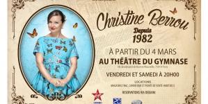 Christine Berrou, certifiée drôle Depuis 1982 !