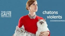 Océanerosemarie au Théâtre de la Gaité Montparnasse : attention, chatons violents