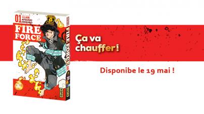 Le manga Fire Force d'Atsushi Ohkubo édité en France !