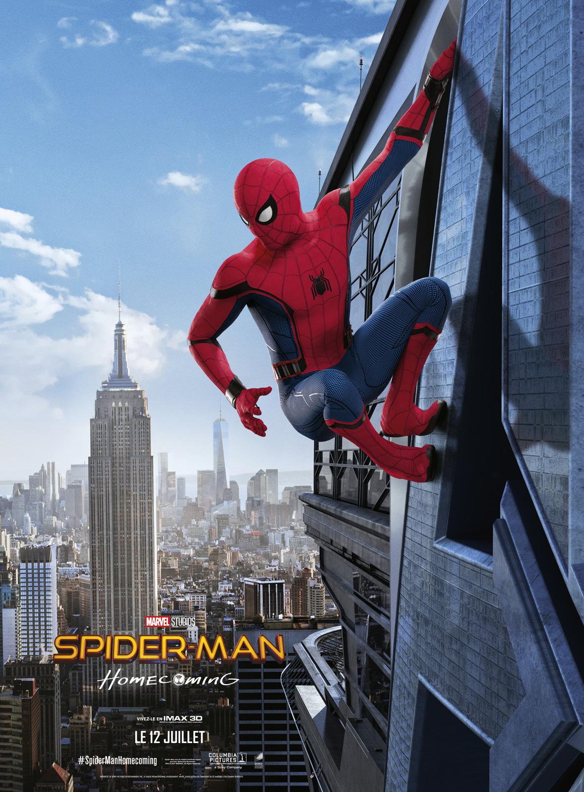 nouvelles images spiderman