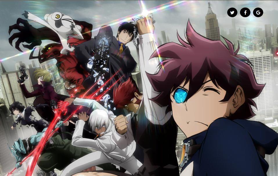 Blood Blockade Battlefront & Beyond anime